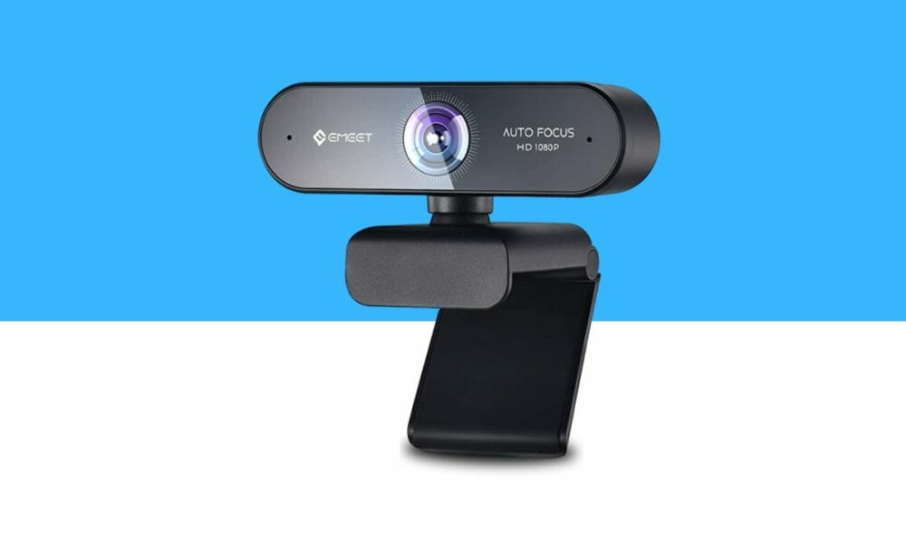eMeet Nova Portable Webcam with Microphone